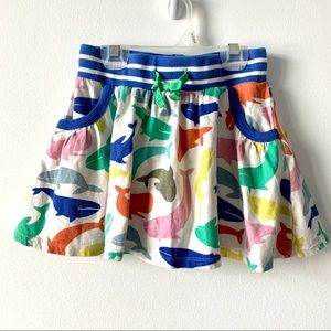 Mini Boden Knit Summer Sealife Skort Sz 7/8